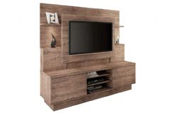 Home Theater Linea Brasil Aron Smart p/ TV de até 55 Wood